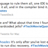 Introducing Our New Meme: Tech Movie Quotes